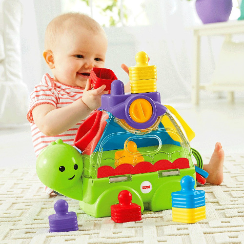 30% off Fisher-Price Little Stackers Sort 'n Spill Turtle : $13.99 + Free S/H