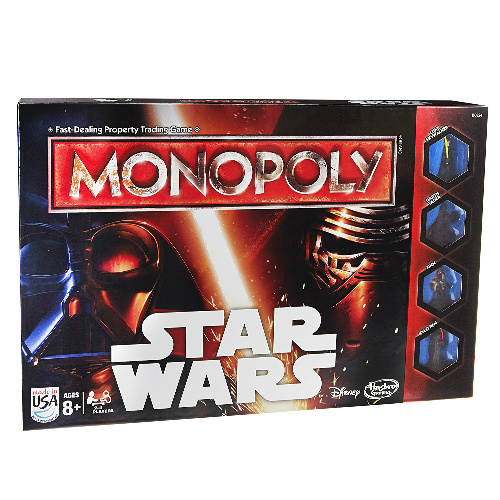 50% off Star Wars Monopoly : Only $12.49