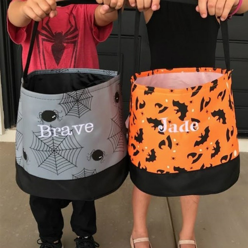 44% off Personalized Trick or Treat Buckets : Only $13.99