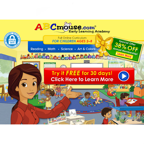 ABC Mouse : Free 30-Day Trial