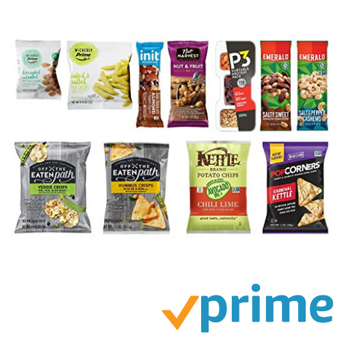 Snack Sample Box : $9.99 + Free S/H + $9.99 Credit for Future Purchase