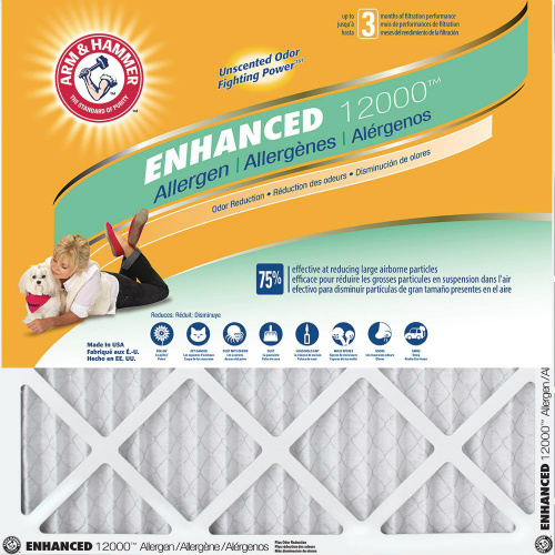 45% off 12-PK of Arm & Hammer HVAC Filters : $54.45 + Free S/H