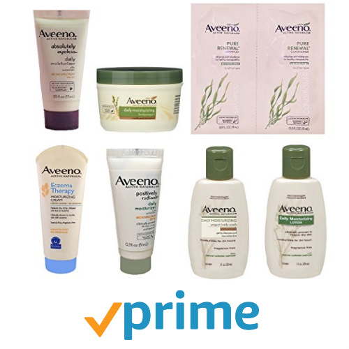 Aveeno Sample Box : $7.99 + Free S/H + $7.99 Credit for Future Purchase