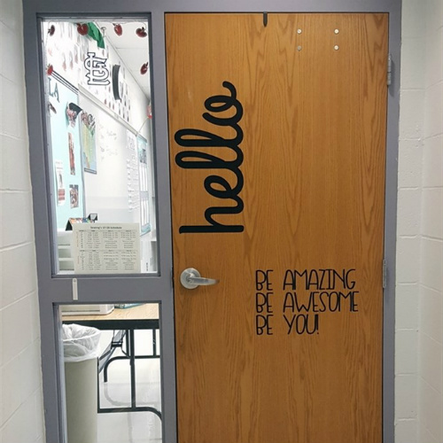 47% off Large Classroom Door Decals : Only $8.99