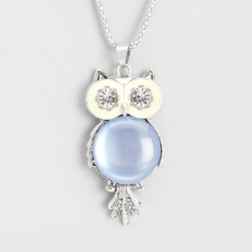 70% off Owl Pendant Necklace : $5.99 + Free S/H