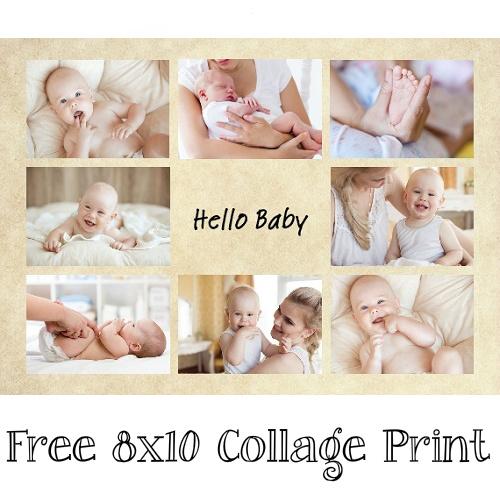 CVS : Free 8×10 Collage Print