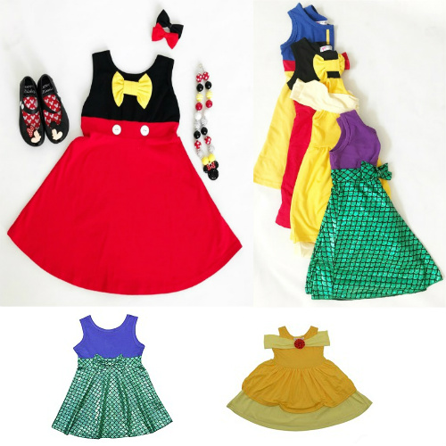 53% off Girls' Princess-Inspired Dresses : Only $13.99