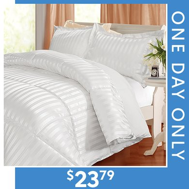 Up to 76% off Kathy Ireland Comforter Sets : $23.79 Any Size