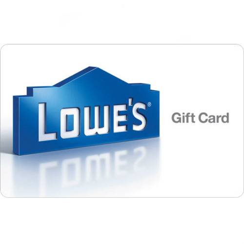 10% off $100 Lowe's Gift Card : Only $90 + Free S/H