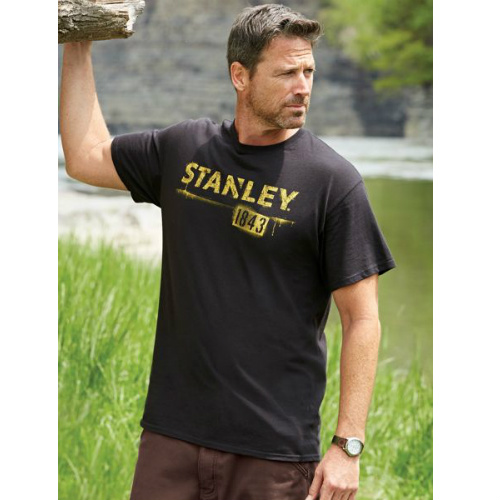 80% off Men's Small Stanley Tools Tee : $2.97 + Free S/H