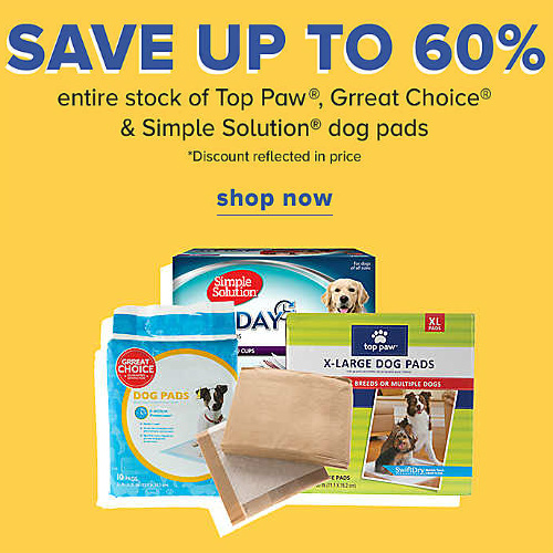 Dog Potty Pads : Up to 60% off