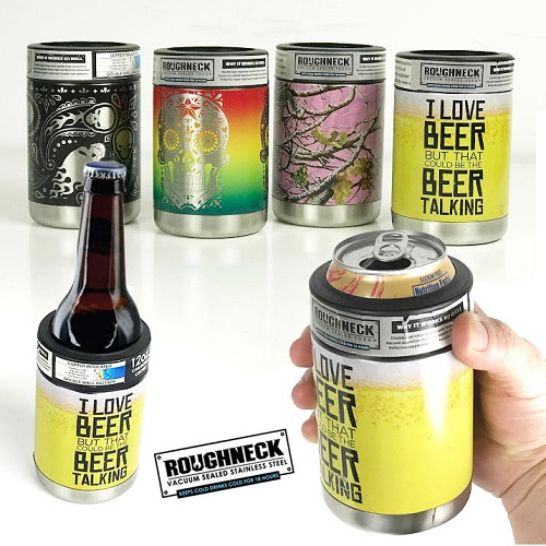 72% off Stainless Steel Koozies : Only $7.99 + Free S/H