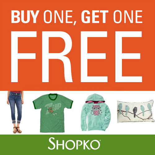 Shopko : Lots of BOGO Sales + Free S/H on $99