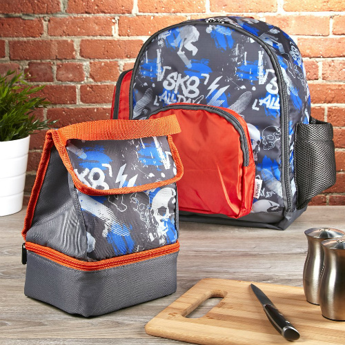 67% off SK8 All Day Backpack & Lunch Bag Set : $10 + Free S/H