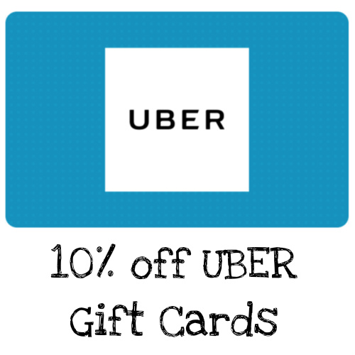 10% off $100 Uber Gift Card : Only $90