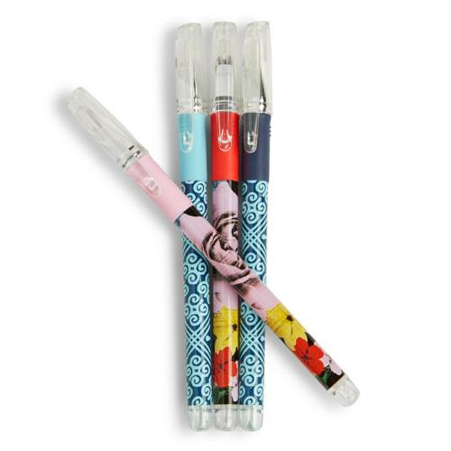 50% off 4-PK of Vera Bradley Gel Pens : $4 + Free S/H