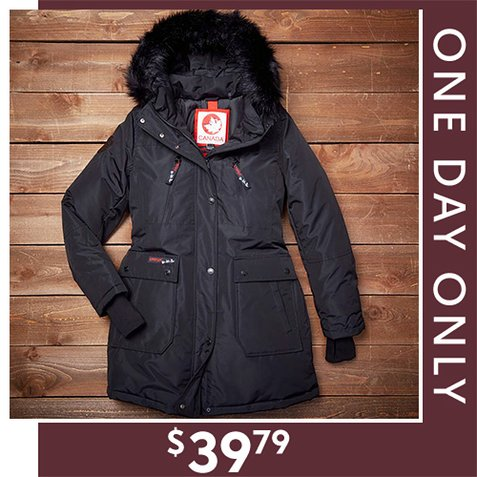 Up to 81% off Canada Weather Gear Coats : Only $39.79
