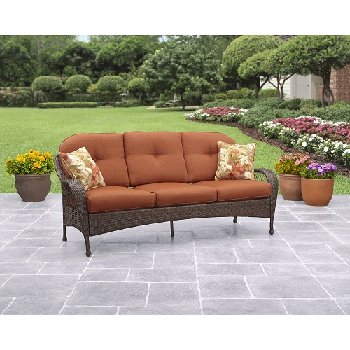 60% off Better Homes & Gardens Outdoor Sofa : $139.16 + Free S/H