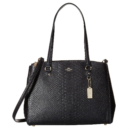 68% off Coach Stamped Snakeskin Stanton Carryall : $189.99 + Free S/H