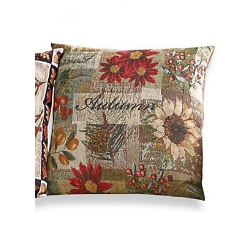 71% off Autumn Tapestry Pillow : $4.97 + Free S/H