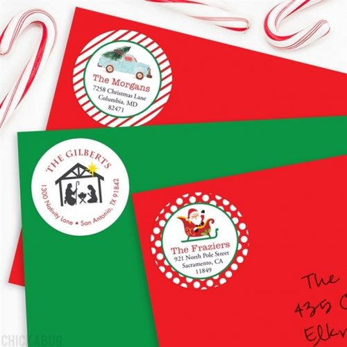 50% off 48-PK of Christmas Return Address Labels : Only $5.95