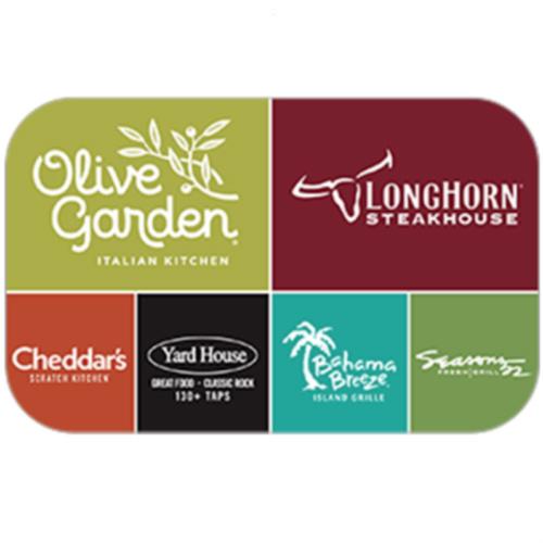 15% off $50 Darden Restaurant Gift Card : Only $42.50
