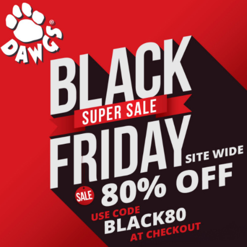 Dawgs Footwear : 80% off Storewide Coupon