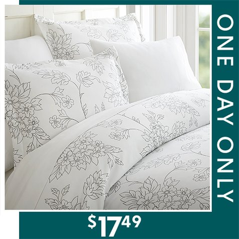 82% off Duvet Sets : Only $17.49 any size