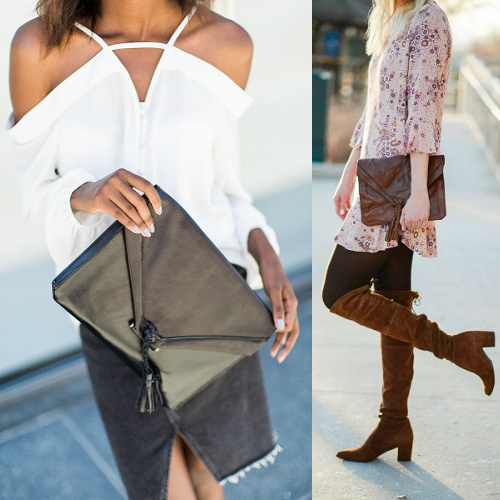 Embrazio Savannah Leather Clutches : 15% off + Free S/H