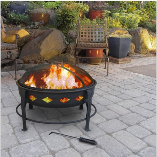 49% off Outdoor Fire Pit : $45.76 + Free S/H