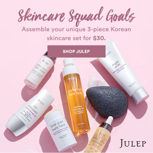 Up to 62% off 3-PC Julep Skincare Set : $30 + Free S/H