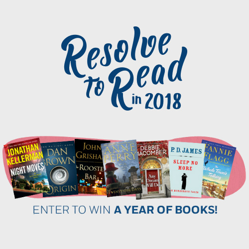 Penguin Random House Sweepstakes : Win a Year's Worth of Books