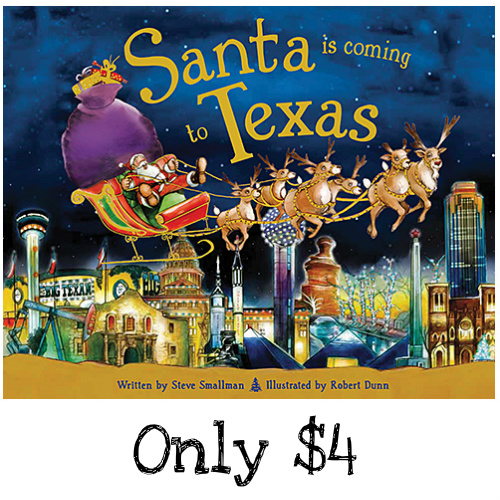 "60% off Regional ""Santa is Coming"" Books : Only $3.99"