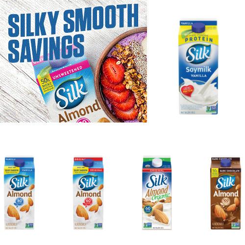 Silk Half Gallon : $1 off Coupon