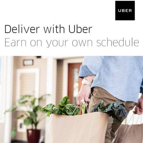 Uber Eats : Make Extra Money Delivering Food from Local Restaurants