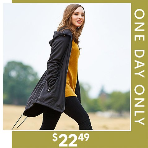 78% off Women's Hooded Jackets : Only $22.49