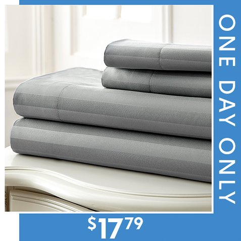 Up to 80% off 400-TC Sheet Sets : Only $17.79