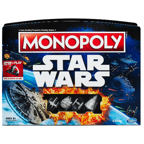 50% off Star Wars Monopoly : $12.49 + Free S/H