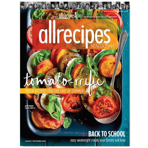 72% off AllRecipes Magazine Subscription : Only $5