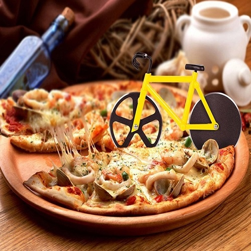 65% off Bicycle Pizza Cutter : $6.99 + Free S/H
