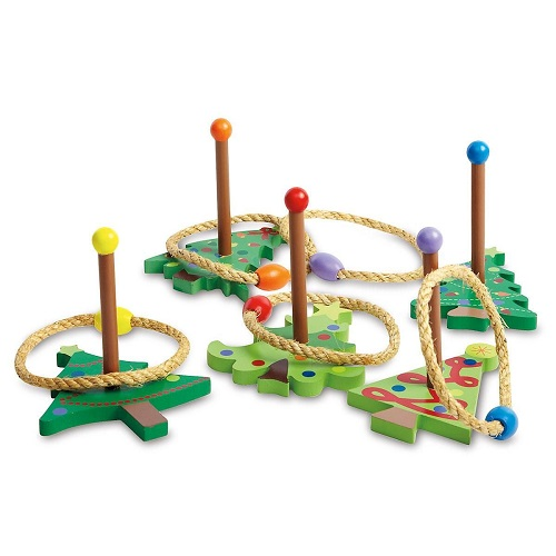 57% off Christmas Tree Ring Toss Game : $12.99 + $2.99 Flat S/H