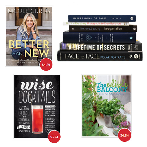 Up to 97% off Hardcover Coffee Table Books : 54¢-$6.99