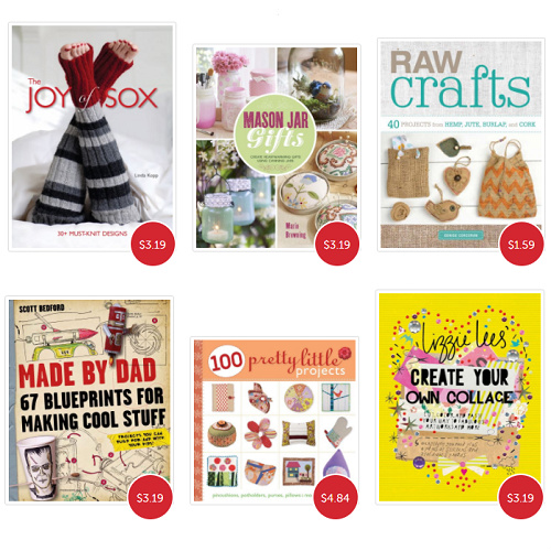 76-95% off Craft and Hobby Books : Only $1.09-$4.84