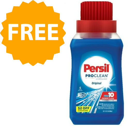 10-OZ Persil Laundry Detergent : Free with Coupon