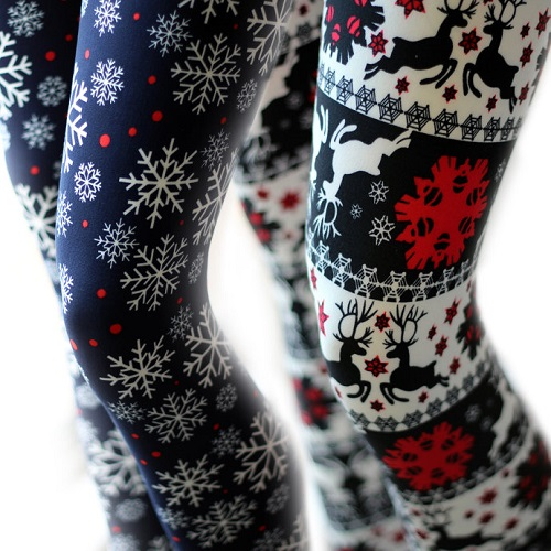 56% off Women's Holiday Leggings : Only $8.99