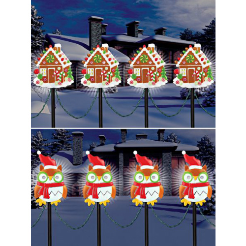 76% off 10-PC Holiday Path Lights Set : $5.97 + Free S/H