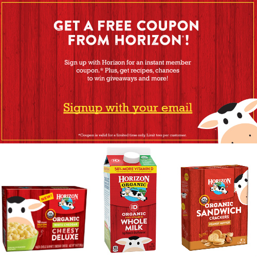 horizon organic $1 coupon