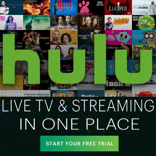 Hulu Live : Free 1-Week Trial