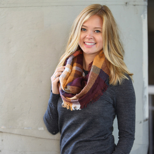 78% off Infinity Blanket Scarves : Only $7.99