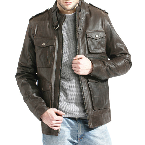Up to 75% off Men's Leather Jackets : $74.99-$179.99